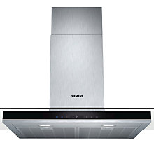 Buy Siemens LC98GA572B Chimney Cooker Hood, Stainless Steel Online at johnlewis.com