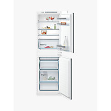 Buy Bosch KIV85VS30G Integrated Fridge Freezer, A++ Energy Rating, 56cm Wide Online at johnlewis.com