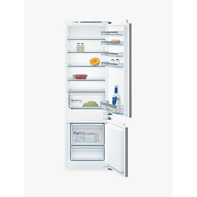 Image of Bosch KIV87VF30G Integrated Fridge Freezer, A++ Energy Rating, 56cm Wide, White
