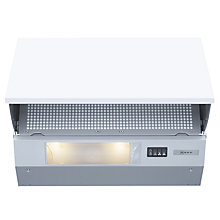 Buy Neff D2654X1GB Integrated Hood, Silver Online at johnlewis.com