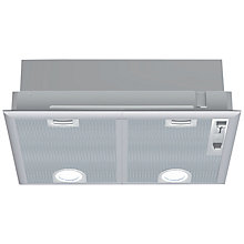 Buy Neff D5655X0GB Canopy Hood, Silver Online at johnlewis.com