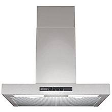 Buy Siemens LC64BA521B Chimney Cooker Hood, Stainless Steel Online at johnlewis.com