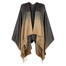 Buy Hobbs Catherine Ombre Wrap, Navy Camel Online at johnlewis.com