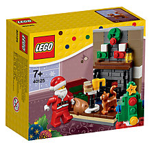 Buy LEGO 40125 Santa's Visit Online at johnlewis.com