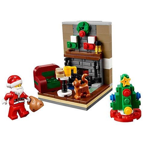 buy lego 40125 santa 39 s visit john lewis. Black Bedroom Furniture Sets. Home Design Ideas