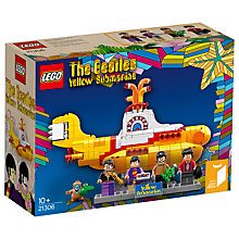 Buy LEGO Ideas 21306 The Beatles Yellow Submarine Online at johnlewis.com