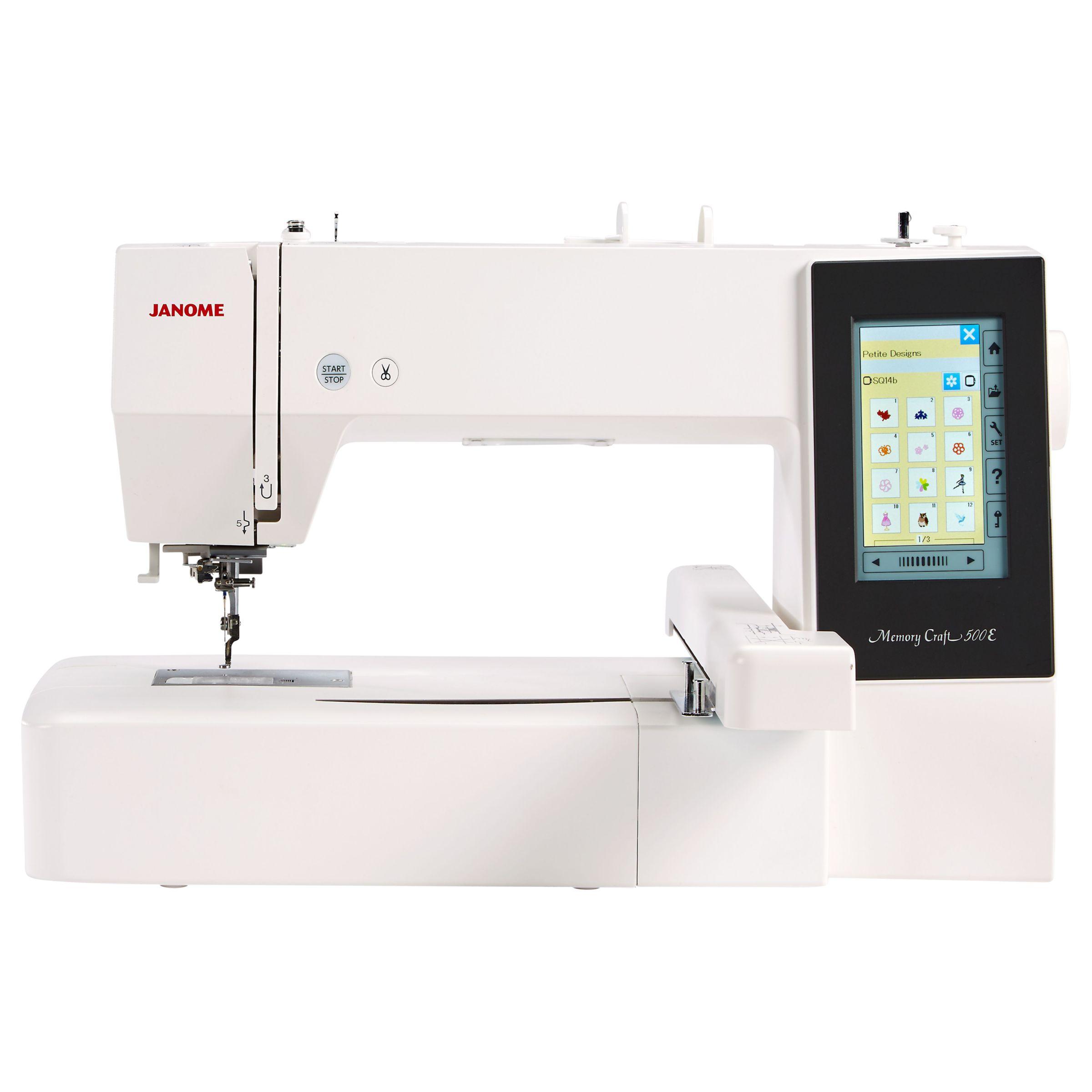 Janome Janome Memory Craft 500E Embroidery Machine