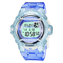 Buy Casio Women's Baby G Resin Strap Watch Online at johnlewis.com