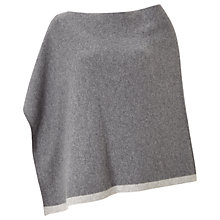 Buy Jigsaw Savannah Cashmere Poncho, Grey Online at johnlewis.com