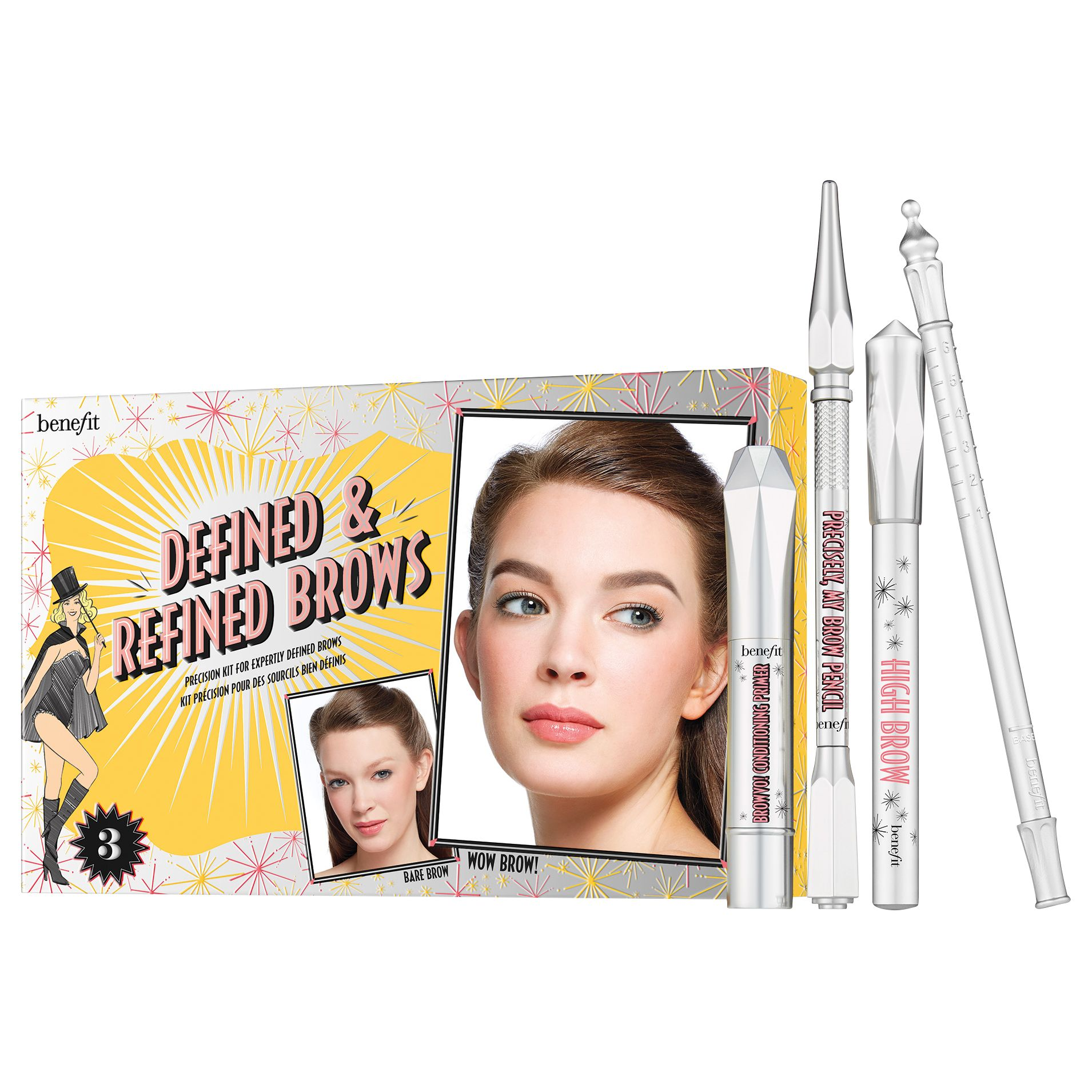 Benefit Benefit Defined & Refined Brow Kit, Medium 03