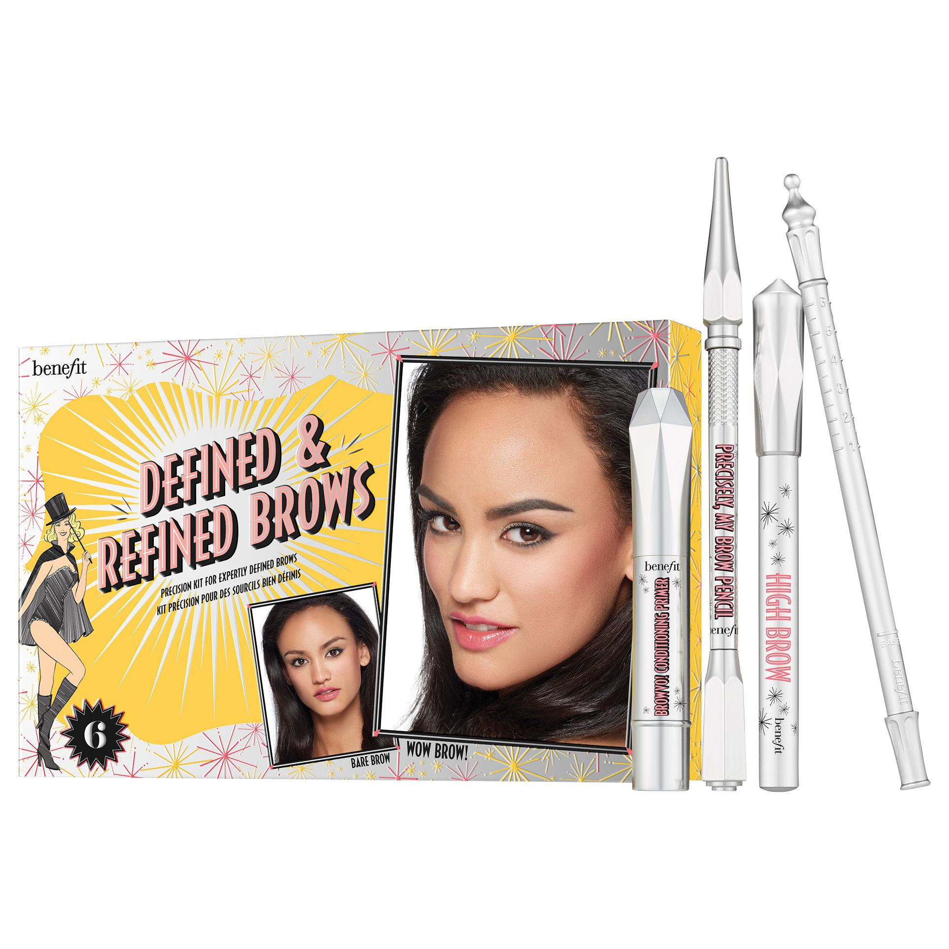 Benefit Benefit Defined & Refined Brow Kit, Deep 06