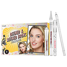Buy Benefit Defined & Refined Brow Kit, Light 02 Online at johnlewis.com