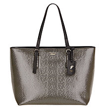 Buy Fiorelli Pollyanna Shopper Bag, Metallic Honeycomb Online at johnlewis.com