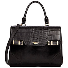 Buy Fiorelli Grace Large Grab Bag, Black Texture Online at johnlewis.com