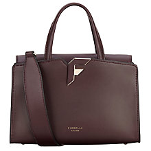 Buy Fiorelli Brompton Medium Grab Bag, Aubergine Online at johnlewis.com