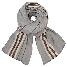 Buy Harris Wilson Wakana Scarf, Galet Online at johnlewis.com