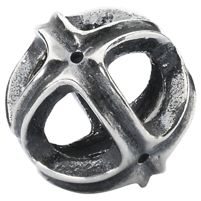 Trollbeads Rise Together Charm, Silver