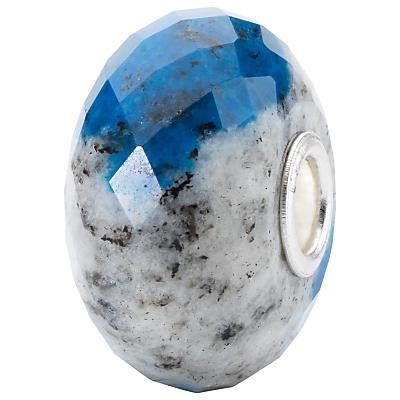 Trollbeads Azurite Charm, Grey/Blue