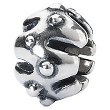Buy Trollbeads Pumpkin Ornament Charm, Silver Online at johnlewis.com