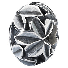 Buy Trollbeads Wisdom Weed Charm, Silver Online at johnlewis.com