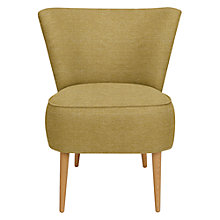 Buy John Lewis Twiggy Armchair, Light Leg, Bala Olive Online at johnlewis.com