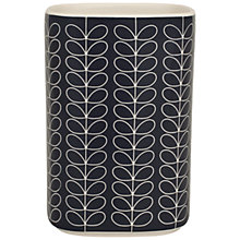 Buy Orla Kiely Linear Stem Utensil Pot, Slate Online at johnlewis.com