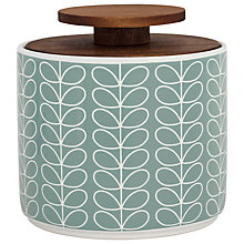 Buy Orla Kiely Linear Stem 1L Storage Jar Online at johnlewis.com
