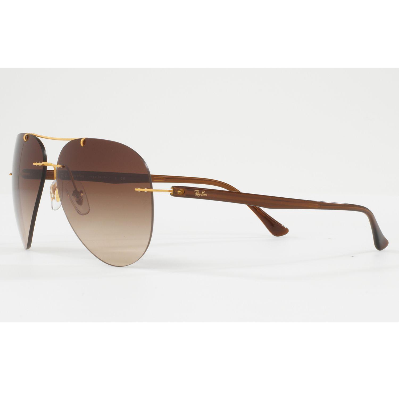 Buy Ray-Ban RB8058 Frameless Aviator Sunglasses John Lewis