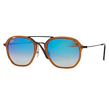 Buy Ray-Ban RB4273 Square Sunglasses Online at johnlewis.com