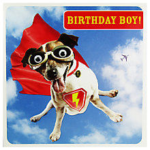 Buy Paperlink Birthday Boy Greeting Card Online at johnlewis.com