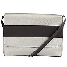 Buy Kin by John Lewis Elsa Across Body Bag, Silver Online at johnlewis.com