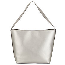 Buy Kin by John Lewis Elsa Shoulder Bag, Silver Online at johnlewis.com