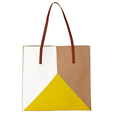 Buy John Lewis Tove Triangle Tote Bag, Multi Online at johnlewis.com