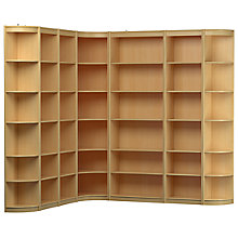Buy John Lewis Connie Corner Bookcase Unit Online at johnlewis.com
