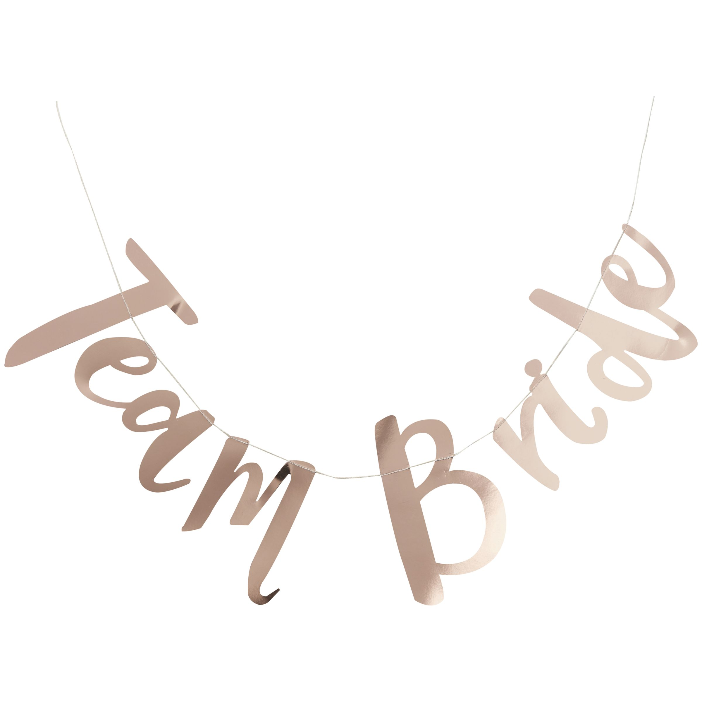 Ginger Ray Ginger Ray Hen Party Team Bride Gold Banner