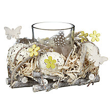 Buy John Lewis Nest Tealight Holder, Yellow Online at johnlewis.com