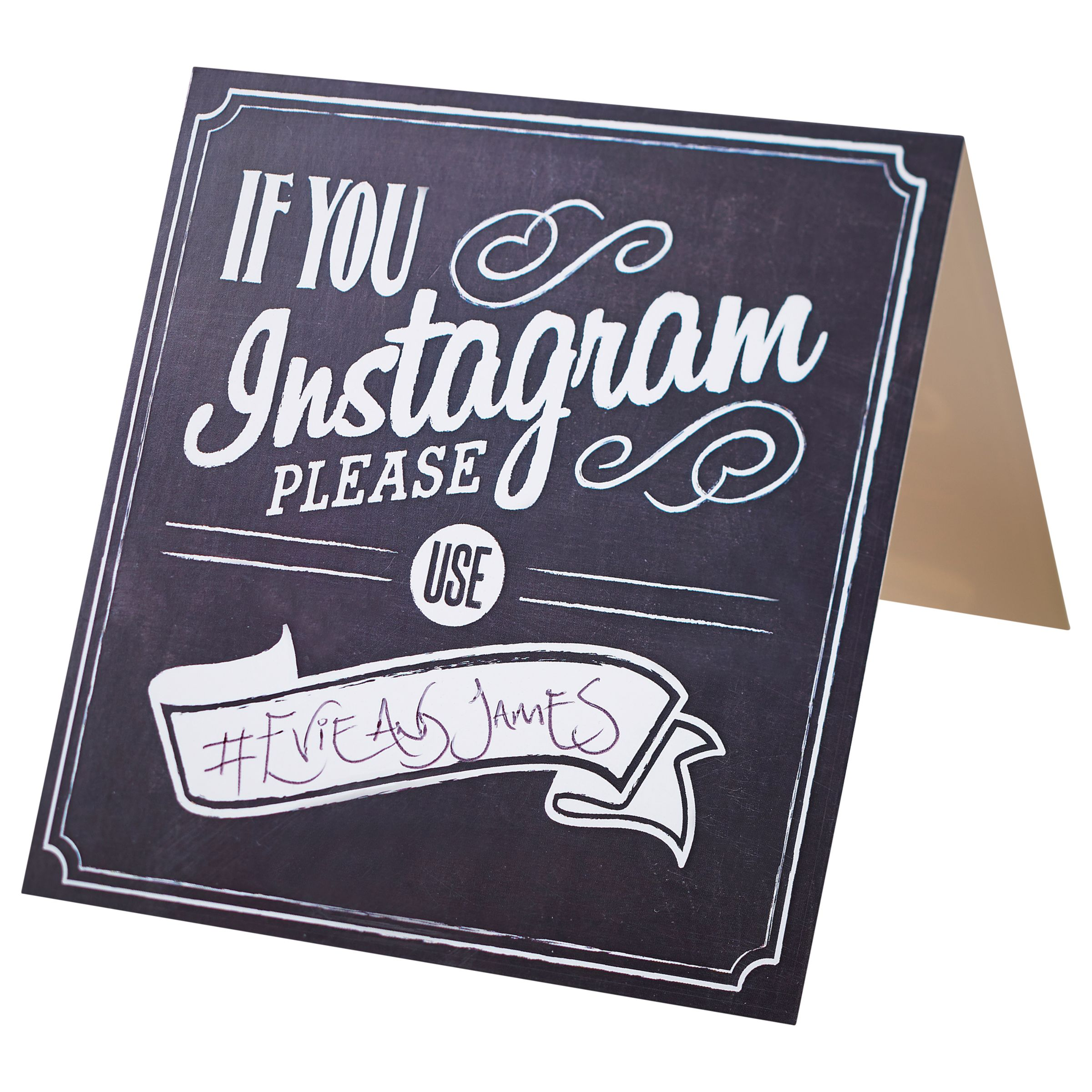 Ginger Ray Ginger Ray Instagram Signs, Pack of 5