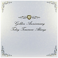 Buy Five Dollar Shake Golden Anniversary Card Online at johnlewis.com