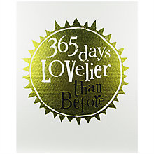 Buy The Bright Side 365 Days Lovelier Than Before Greeting Card Online at johnlewis.com