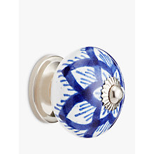 Buy John Lewis Country Ceramic Cupboard Knob, Dia.40mm Online at johnlewis.com