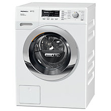 Buy Miele WTF130WPM Washer Dryer, 7kg Wash/4kg Dry Load, A Energy Rating, 1600rpm Spin, White Online at johnlewis.com