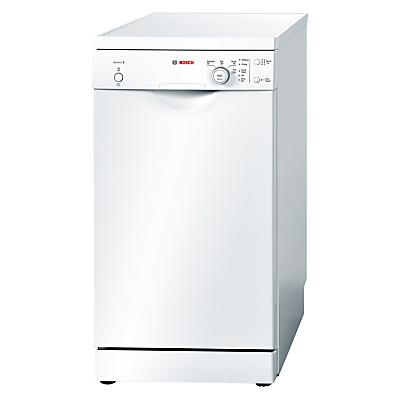 Image of Bosch SPS40E32GB Slimline Freestanding Dishwasher, White