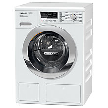 Buy Miele WTH120WPM Washer Dryer, 6kg Wash/3kg Dry Load, A Energy Rating, 1600rpm Spin, White Online at johnlewis.com