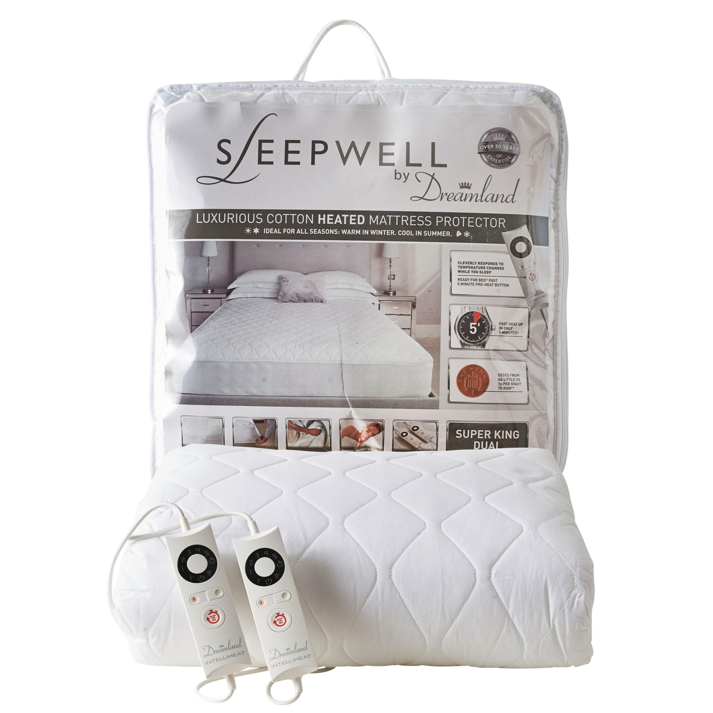 Dreamland Dreamland Sleepwell Dual Control Heated Mattress Protector