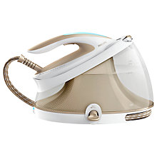 Buy Philips GC9410/60 PerfectCare Aqua Pro Steam Generator Iron, Cream Online at johnlewis.com