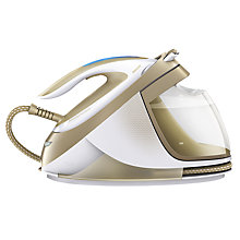 Buy Philips GC9642/60 PerfectCare Elite Silence Steam Generator Iron, Cream Online at johnlewis.com