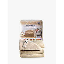 Buy Dreamland 16327 Relaxwell Heated Throw Luxury Electric Blanket, Champagne Online at johnlewis.com