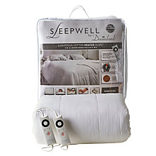 Buy Dreamland 16330 Sleepwell Heated Duvet, Kingsize Online at johnlewis.com