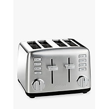 Buy Cuisinart Signature Collection 4 Slot Toaster, Silver Online at johnlewis.com