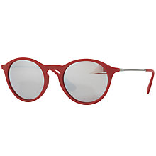 Buy Ray-Ban RB4243 Round Sunglasses Online at johnlewis.com